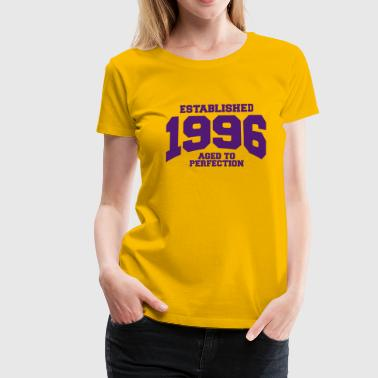 aged to perfection established 1996 (fr) - T-shirt Premium Femme