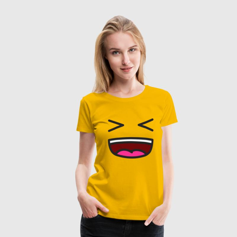 XD Smiley Smil - Dame premium T-shirt