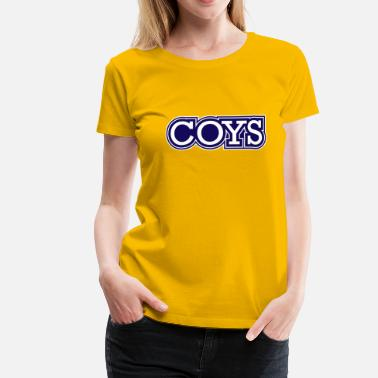 Come On You Spurs! - Women's Premium T-Shirt