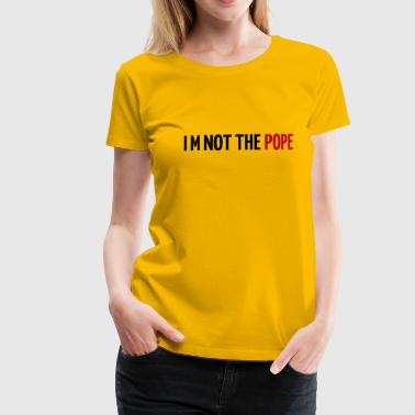 Pope - Women's Premium T-Shirt