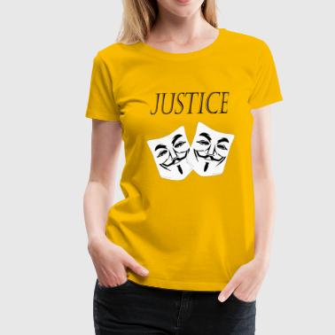 Justice Authority justice - Women's Premium T-Shirt