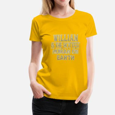 Williams William - T-shirt Premium Femme
