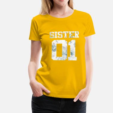 Bff Sisters amis Sister Sister bff Amitié combi - T-shirt Premium Femme