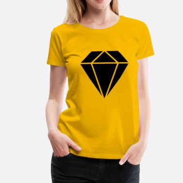 Surface surfaces de diamant - T-shirt Premium Femme