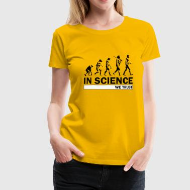Evolution Science Science Evolution - Women's Premium T-Shirt