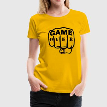 Game over Faust - Frauen Premium T-Shirt