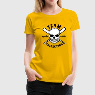 Team Collection Skull - Frauen Premium T-Shirt