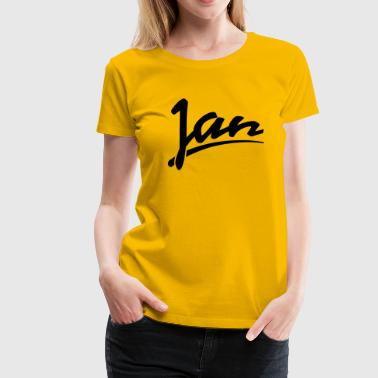 Jan - Frauen Premium T-Shirt