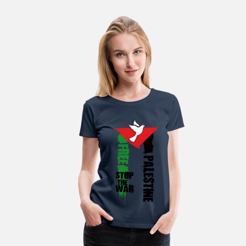Shirt T Free Xwpozitku Femmespreadshirt Palestine Premium iTkPZOXu