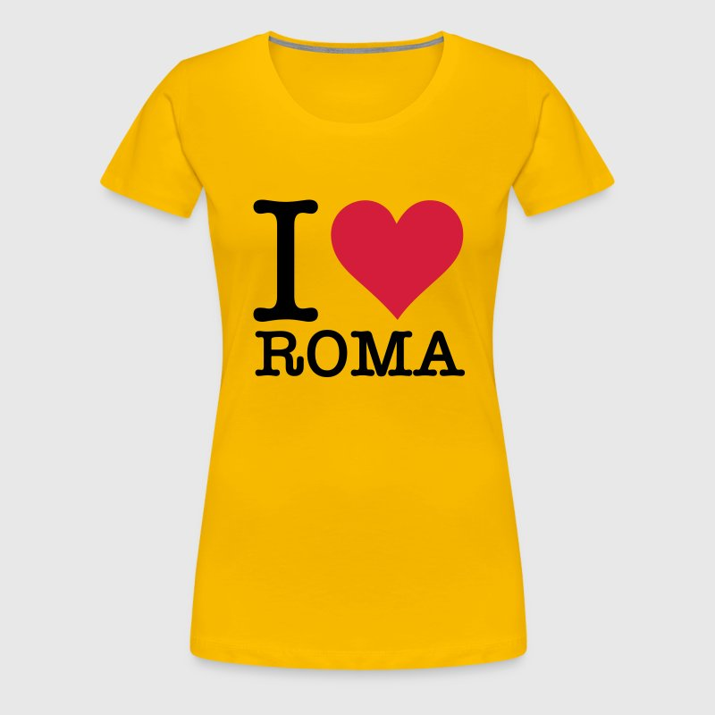 I love Rome - Women's Premium T-Shirt