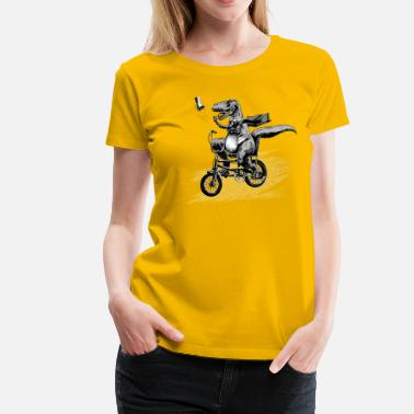Old School T Rex Paperboy Old school - T-shirt Premium Femme