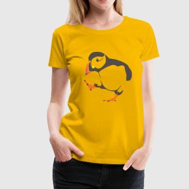 Conservation Walking  puffin - Women's Premium T-Shirt
