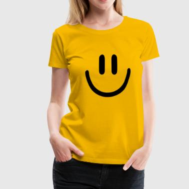 :) smiley - Women's Premium T-Shirt