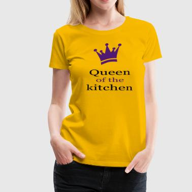 Queen of the kitchen - Women's Premium T-Shirt