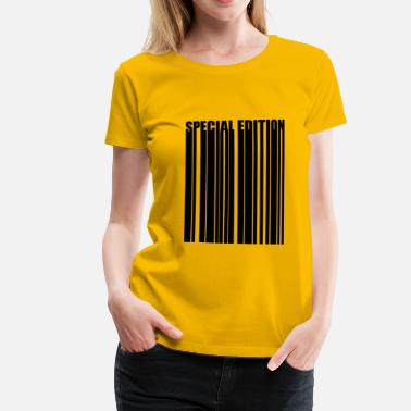 Special Number Barcode Barcode special edition Special Edition - Women's Premium T-Shirt