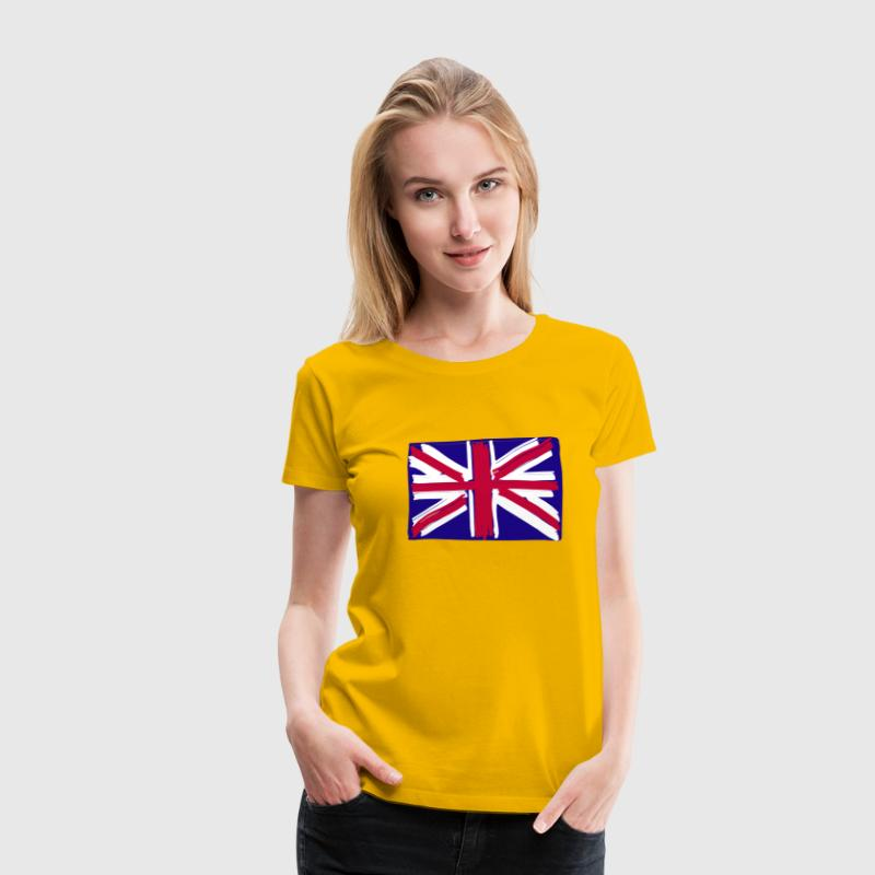 kidsplay British flag - Vrouwen Premium T-shirt