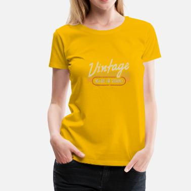 2000 Vintage MADE IN 2000 - T-shirt Premium Femme
