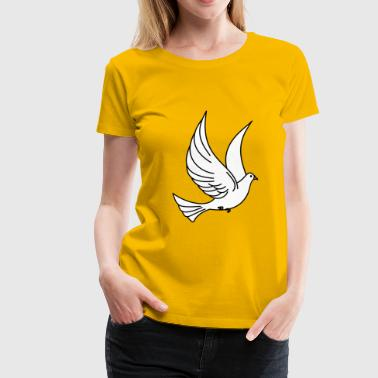 weltfrieden auf erden world peace on earth love58 - Frauen Premium T-Shirt