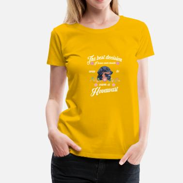 Hovawart Chien Hovawart - T-shirt Premium Femme