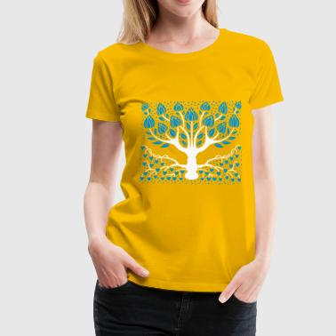 Fantastic tree - Premium-T-shirt dam