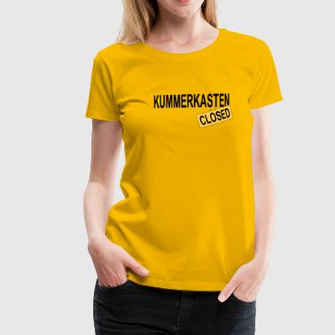 Kummerkasten - closed - Frauen Premium T-Shirt