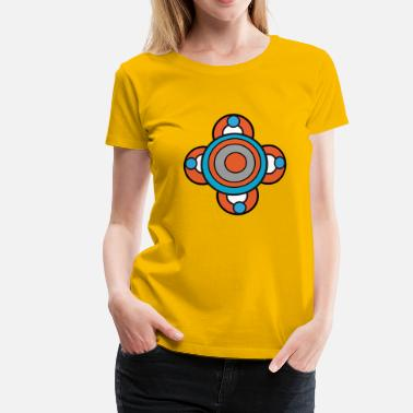 Power Pop flower power - Camiseta premium mujer