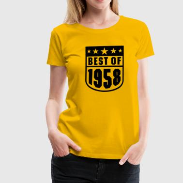 Best of 1958 - Frauen Premium T-Shirt