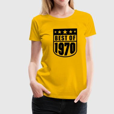 Best of 1970 - Frauen Premium T-Shirt