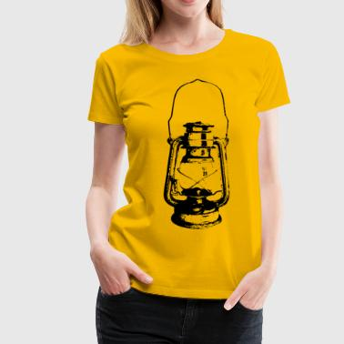 Lamp Women - Frauen Premium T-Shirt