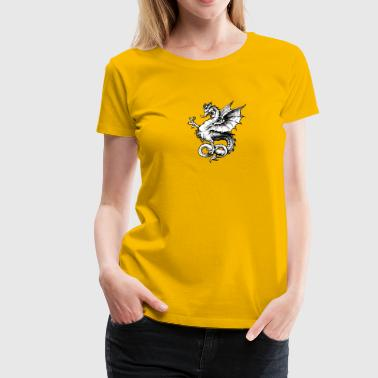 Traditioneller Drache - Frauen Premium T-Shirt