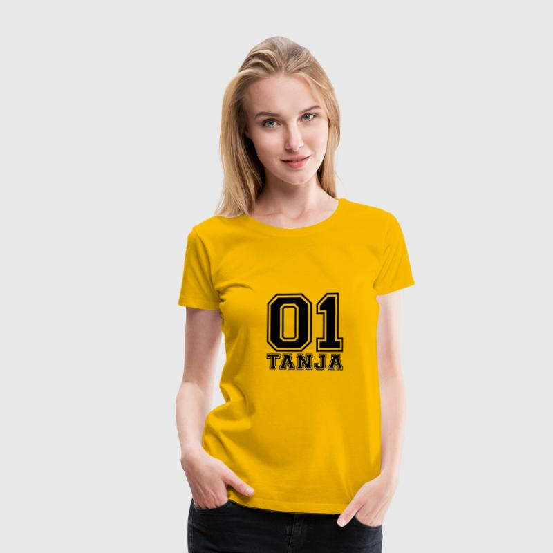 Tanja - Name - Frauen Premium T-Shirt