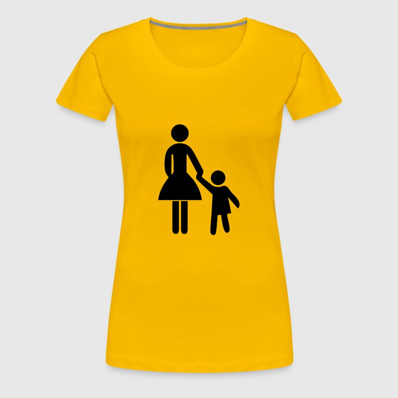 Mother and Child - Women's Premium T-Shirt