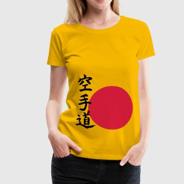 Karate do - Orient - Dame premium T-shirt