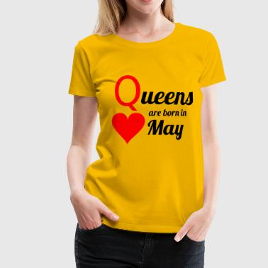 Queen May - Premium T-skjorte for kvinner