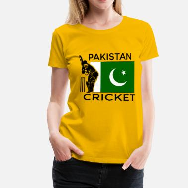 Pakistan Funny Pakistan Cricket - Women's Premium T-Shirt
