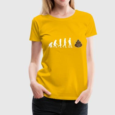 Gift Shirt kak Evolution - Vrouwen Premium T-shirt