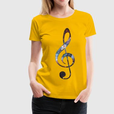 Cosmic Music - Women's Premium T-Shirt