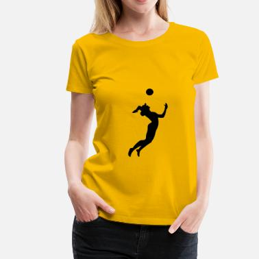 Volleyboll Volleyboll, beachvolley - Premium-T-shirt dam