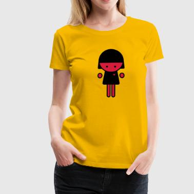 Figur Marvett Emotional, Emo - Frauen Premium T-Shirt