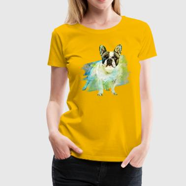 French Bulldog -Frenchie - Women's Premium T-Shirt