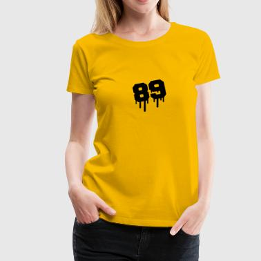 Number 89 Graffiti - Women's Premium T-Shirt