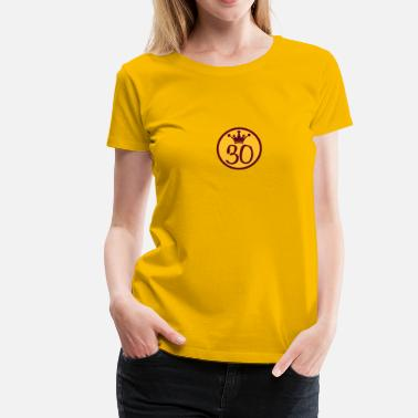 King Queen Prince Logo Crown Prince of King Queen Princess 30 - Women's Premium T-Shirt