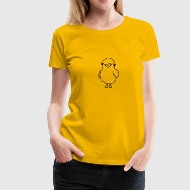 Chicks with eggshell on the head - Women's Premium T-Shirt