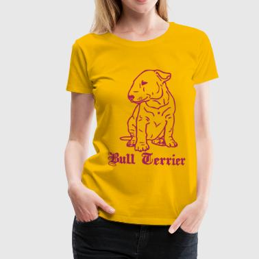 bull terrier © - dog-power.nl - Vrouwen Premium T-shirt