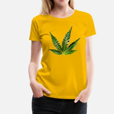 Hemp Leaf hemp leaf - Women's Premium T-Shirt