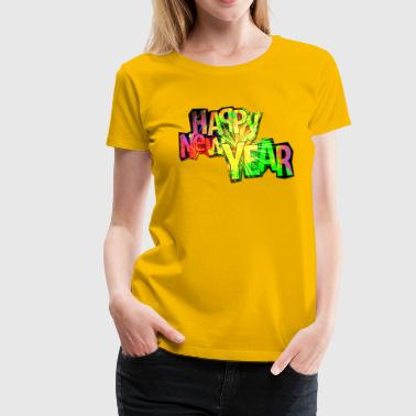 Happy New Year - Women's Premium T-Shirt