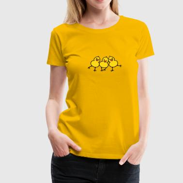 Tipsy Chicks (b) - Frauen Premium T-Shirt