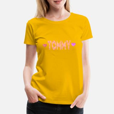 Tommy Heart Tommy - Women's Premium T-Shirt