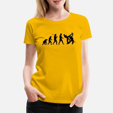 Capoeira Evolution: Capoeira - Women's Premium T-Shirt