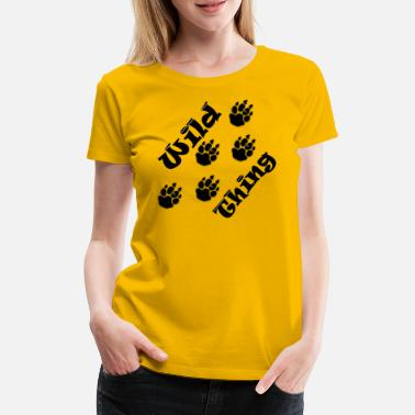 Wild Dog Wild thing - Women's Premium T-Shirt